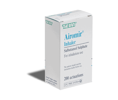 airomir 200 inhalation