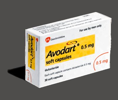 avodart 0.5mg capsules