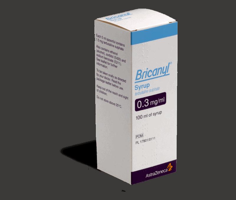 Bricanyl 100ml siroop