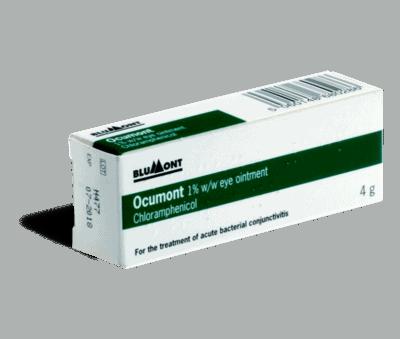 chlooramfenicol 4g tube