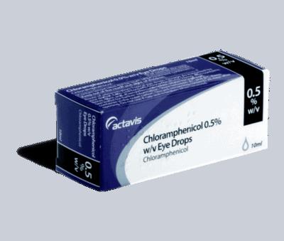 chlooramfenicol 10ml oogdruppel