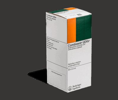 Combivent 60x2.5ml vernevelvloeistof