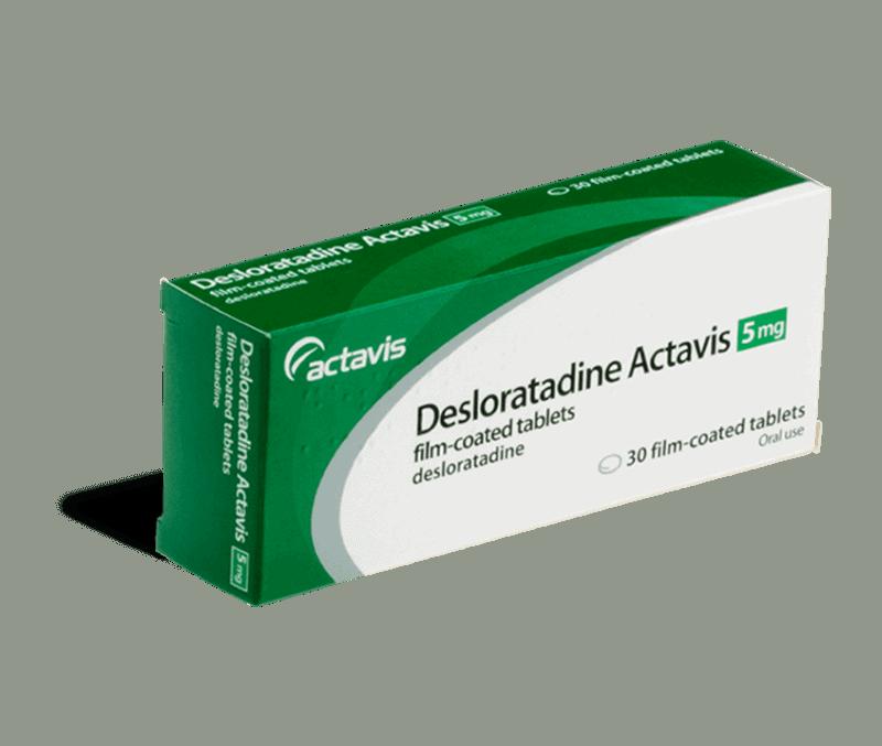 desloratadine 5mg tabletten
