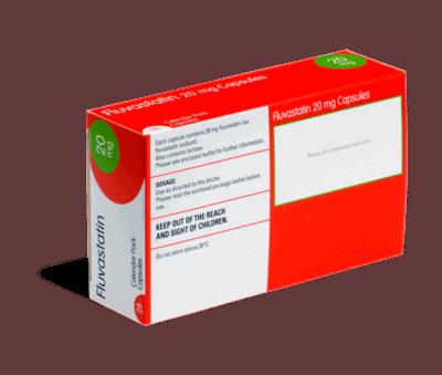 Fluvastatin achterkant