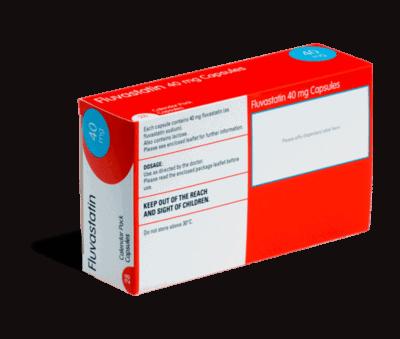 Fluvastatin 40 achterkant