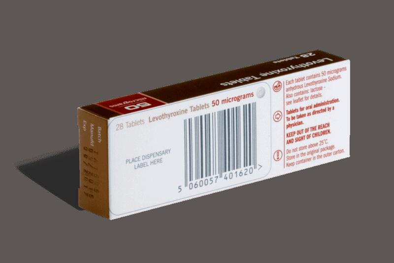 Levothyroxine achterkant