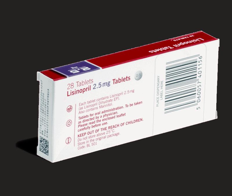 Lisinopril achterkant