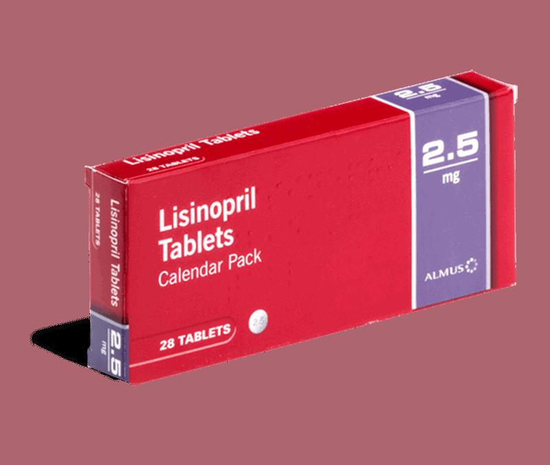 Lisinopril 2.5mg tabletten