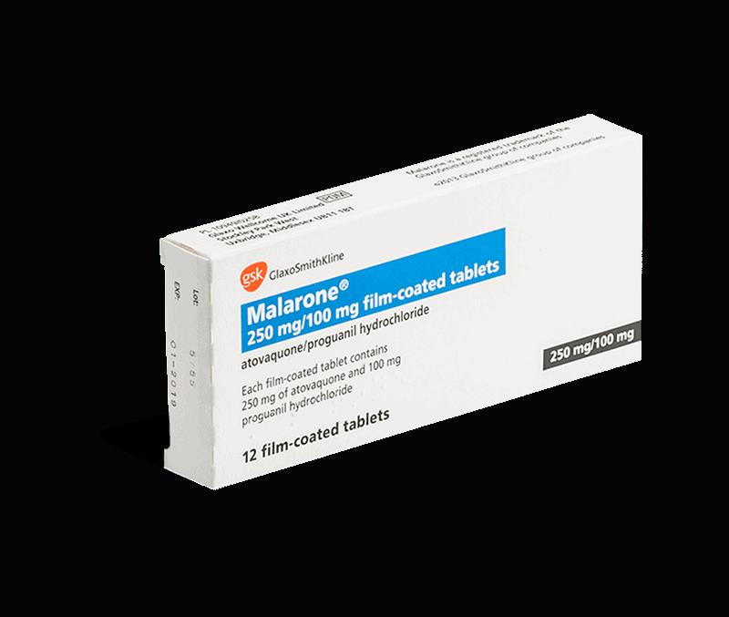 malarone 250mg/100mg tabletten