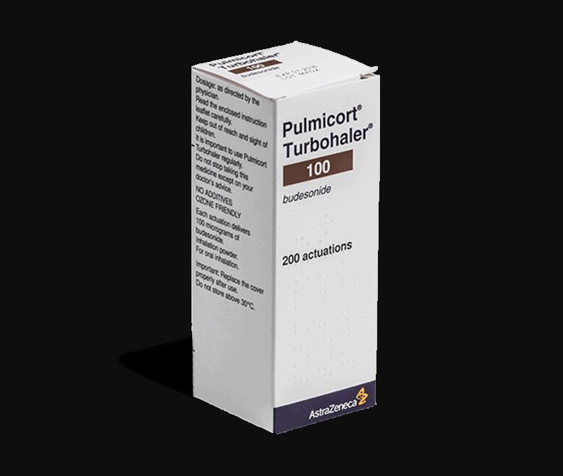 pulmicort 200 actuations inhalator