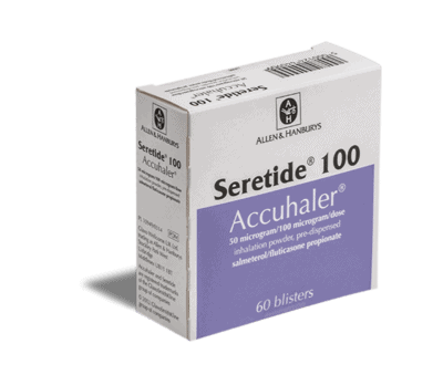 seretide 50μg/100μg inhalator