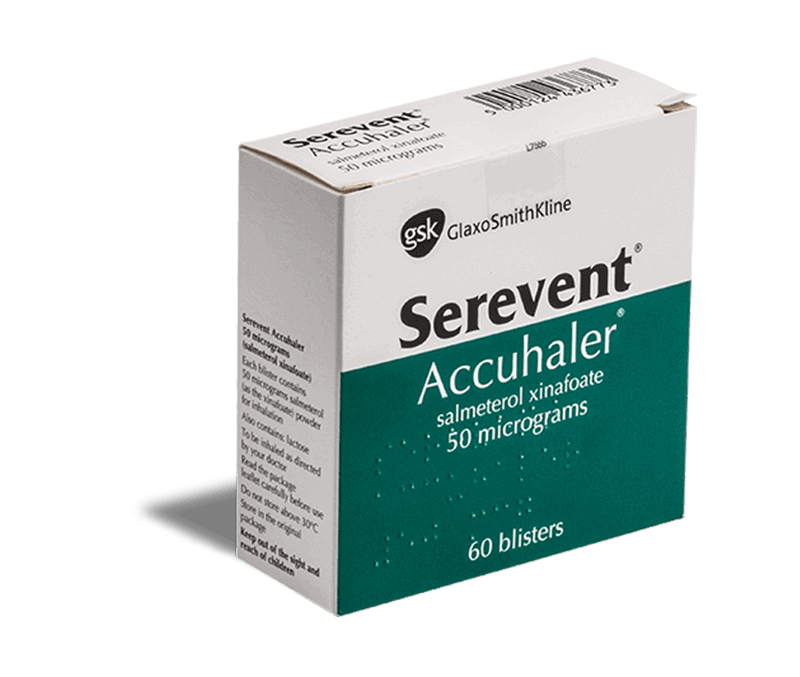 Serevent 50 μg inhalator