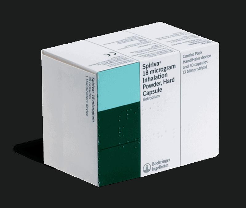 Spiriva 18mcg inhalation capsules