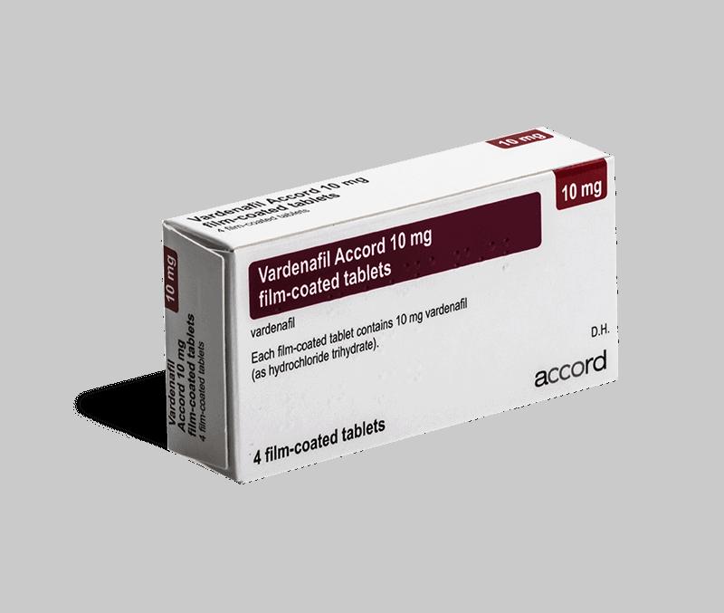 Vardenafil 10mg tabletten