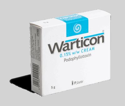 warticon 5g creme