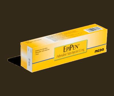 Epipen 0.3mg injecties