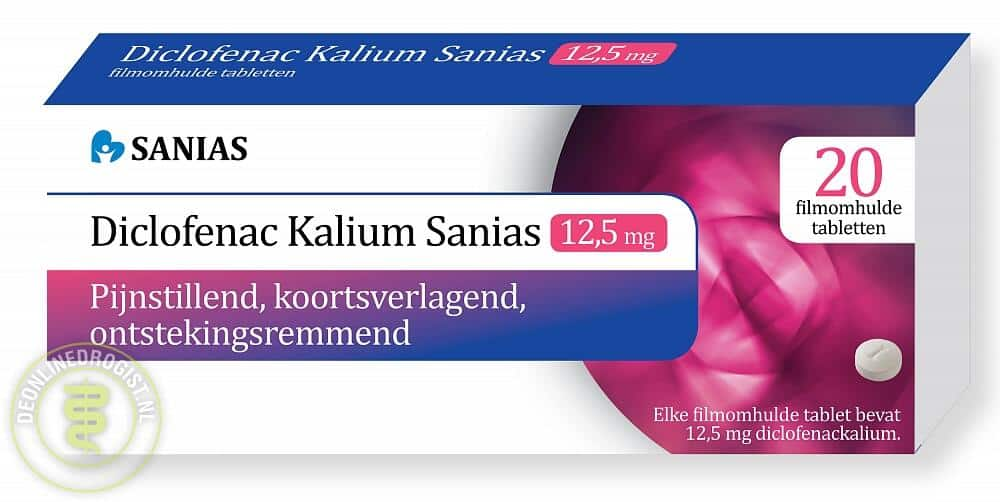 Diclofenac 12,5mg tabletten